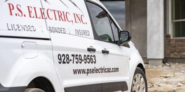 P.S.-Electric-Inc-Electrician-Van